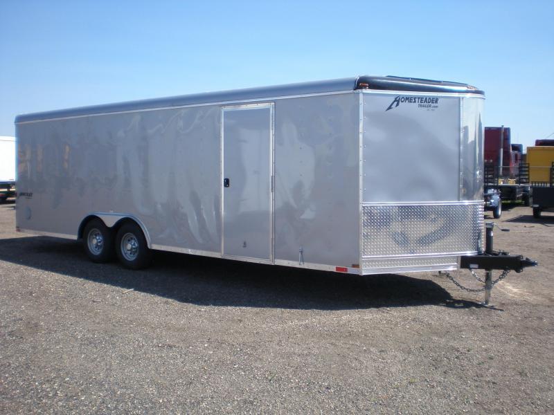 2022 Homesteader 24' Enclosed Car Hauler/Cargo Trailer
