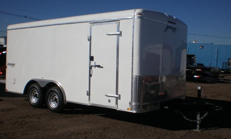 2021 Homesteader 8x16 Enclosed Cargo Trailer 10K