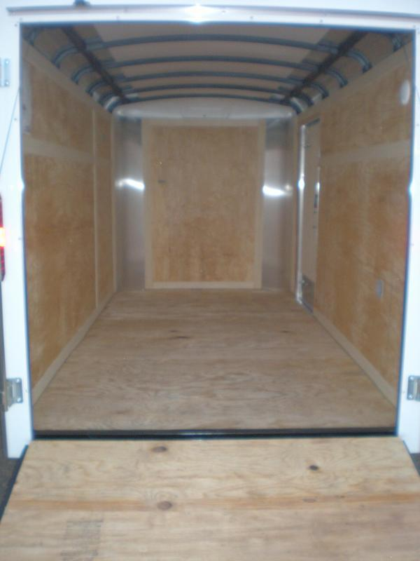 2021 Homesteader 6x12 Enclosed Cargo Trailer w/ Ramp