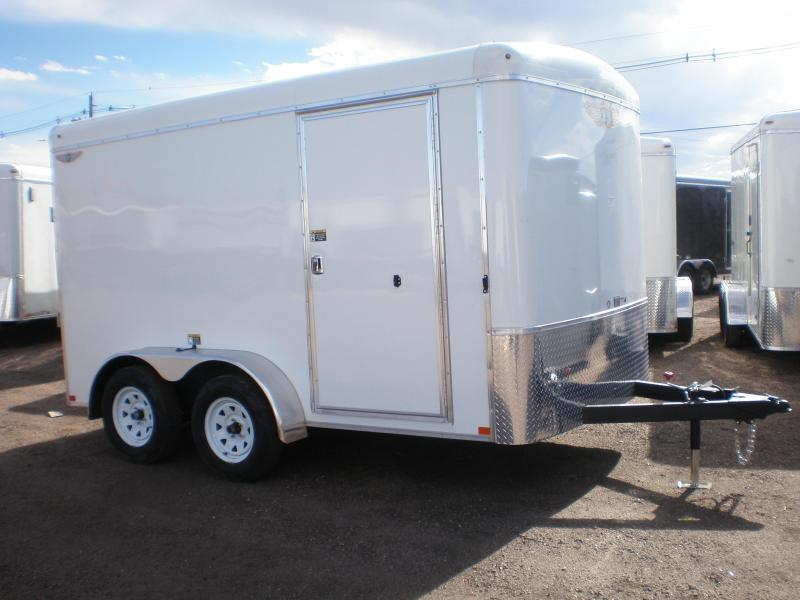 2020 H and H 7x12 Enclosed Cargo Trailer w/Ramp