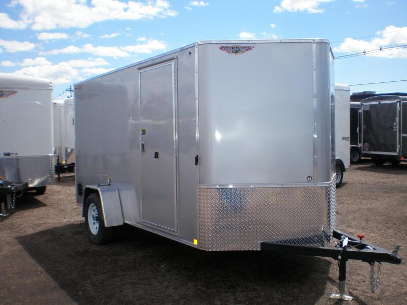 2020 H and H 6x14 Enclosed Cargo Trailer w/V-Nose & Ramp