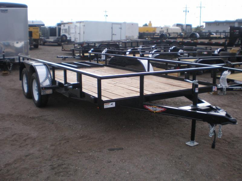 2019 H and H Trailer H8216TRS-070 Utility Trailer