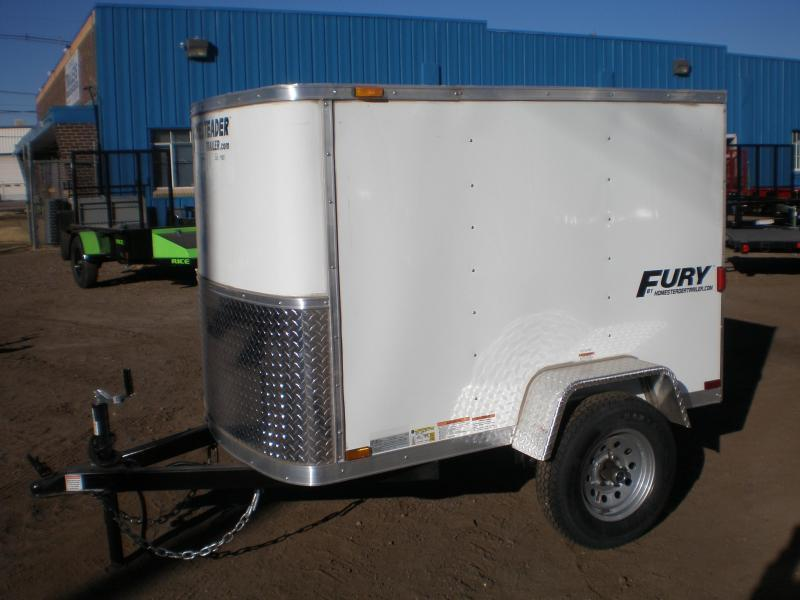 2021 Homesteader 4x8 Enclosed Cargo Trailer