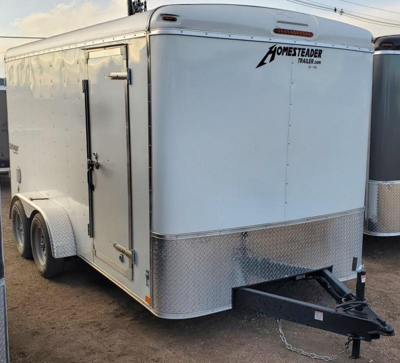 2021 Homesteader 7x14 Enclosed Cargo Trailer w/Ramp & Extra Height