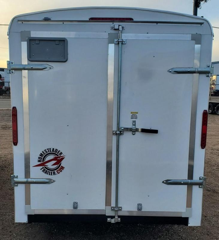 2021 Homesteader 6x10 Enclosed Cargo Trailer w/Double Doors