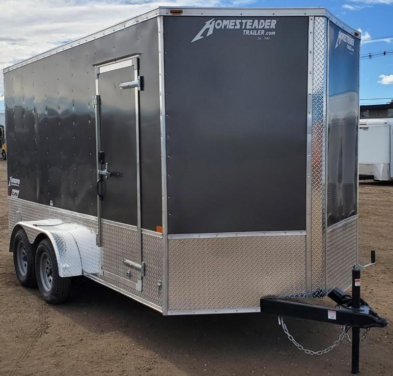 "2021 Homesteader 7x12 ""Intrepid OHV""Enclosed Cargo Trailer"