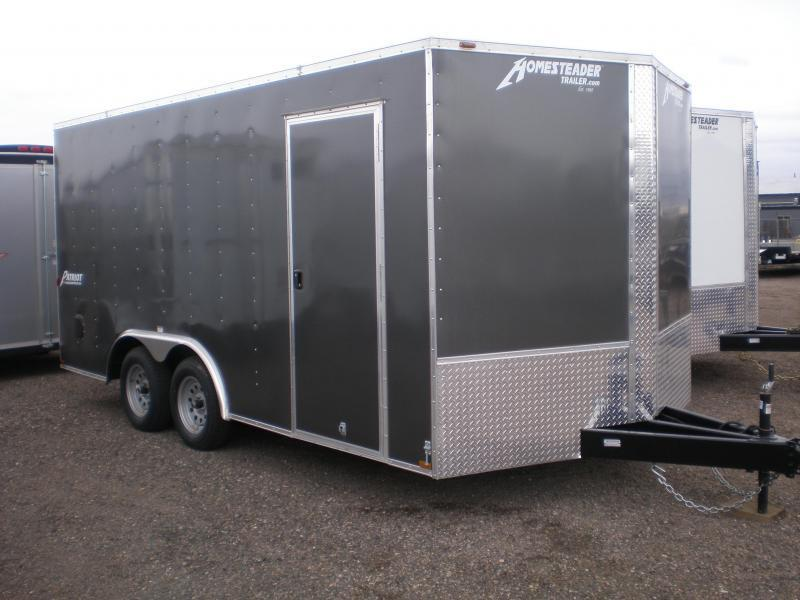 2021 Homesteader 8x16 Enclosed V-Nose Cargo Trailer