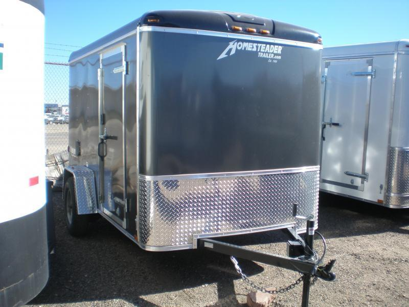 2021 Homesteader 6x10 Enclosed Cargo Trailer w/Double Doors