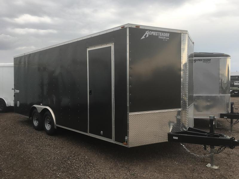 2021 Homesteader 8x20 Car Hauler