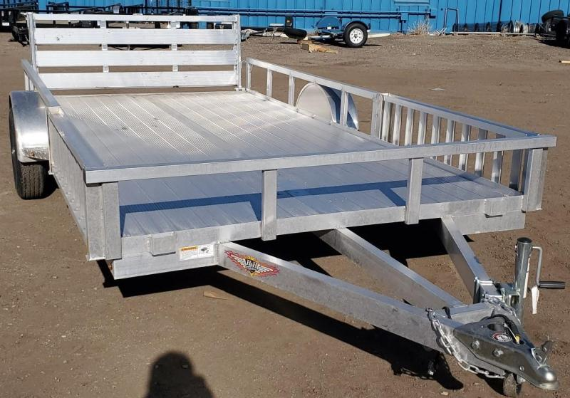 2021 H and H 82X14 ALL ALUMINUM ATV Trailer