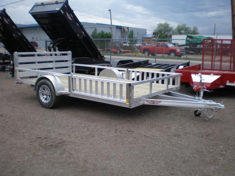 2021 H and H 82X14 ALUMINUM ATV Trailer