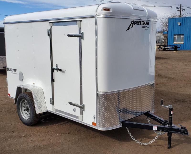 2021 Homesteader 5x10 Enclosed Cargo Trailer W/ Swing Door