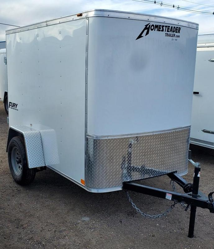"2021 Homesteader 5x8 ""Fury"" Enclosed Cargo Trailer"