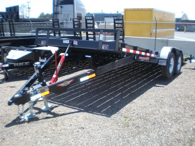 2021 H and H Speedloader Tilt Trailer 82X20 10K Flatbed