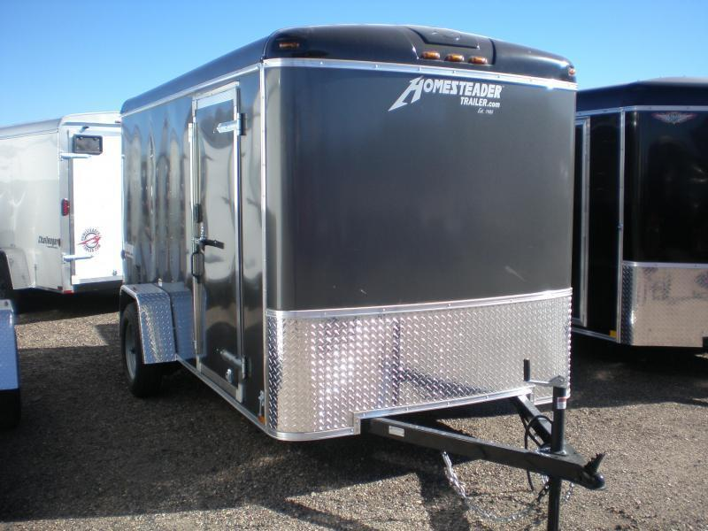 2021 Homesteader 6x12 Enclosed Cargo Trailer w/Ramp