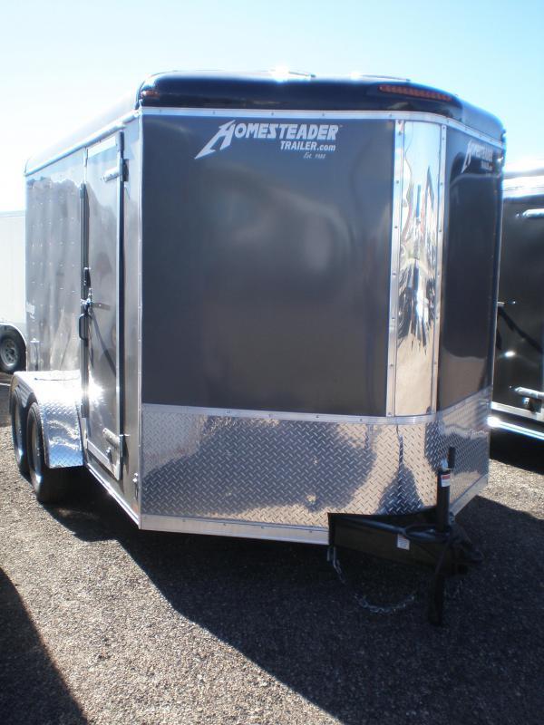 2022 Homesteader 7x12 Enclosed Cargo Trailer V-Nose