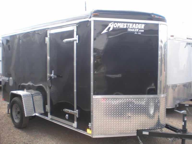 2021 Homesteader 6x12 Enclosed Cargo Trailer - V Nose