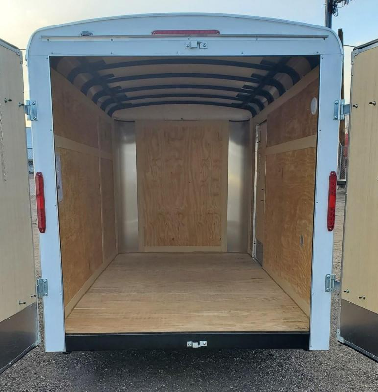 2022 Homesteader 6x12 Enclosed Cargo Trailer Double Doors