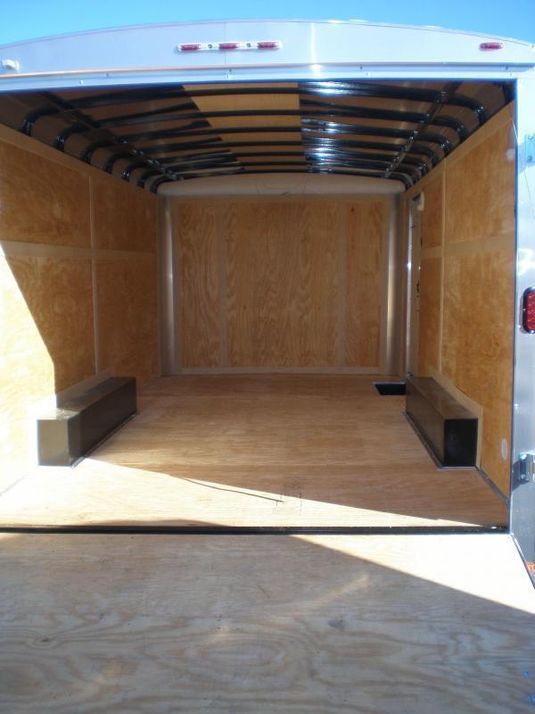 2022 Homesteader 8x16 Enclosed Cargo Trailer 10K