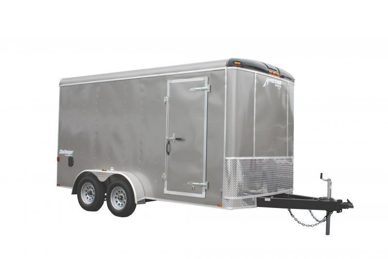 2021 Homesteader 7x14 Enclosed Cargo Trailer w/Double Doors
