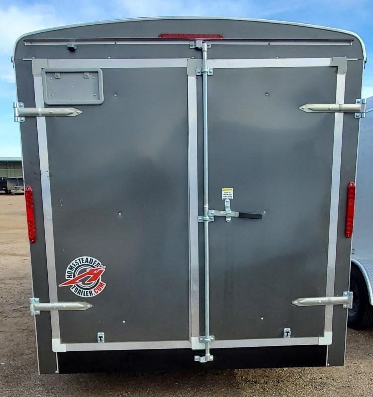 2021 Homesteader 7x14 Enclosed Cargo Trailer w/Double Doors