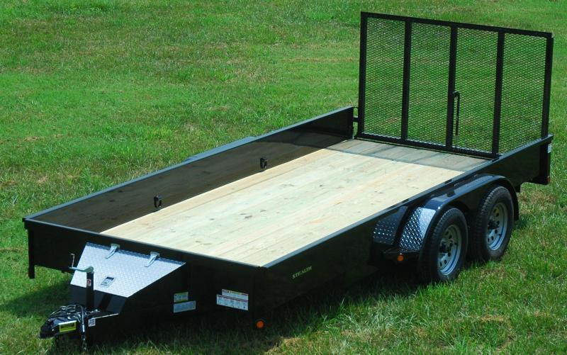 "2020 Rice ""Stealth"" 82x16 Utility Trailer"