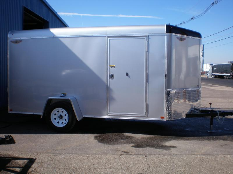 2020 H&H 6x12 Enclosed Cargo Trailer