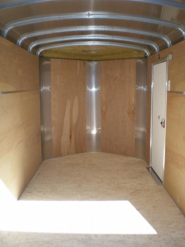 2020 H&H 6x12 Enclosed Cargo Trailer
