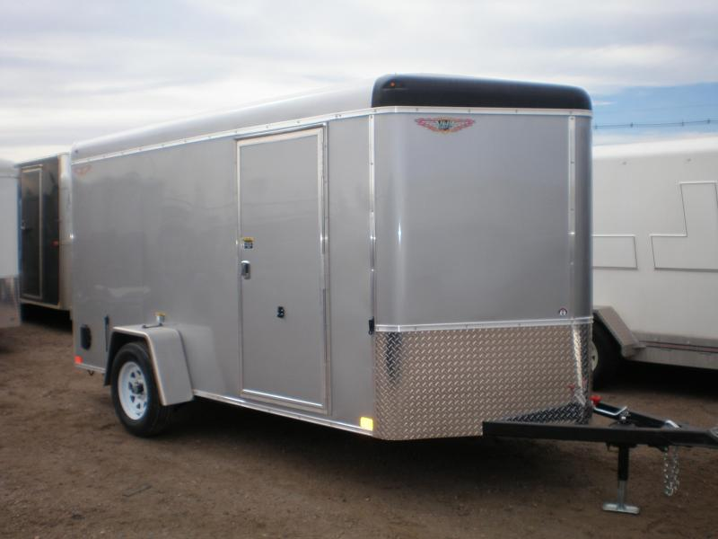 2021 H&H 6x12 Enclosed Cargo Trailer Double Doors