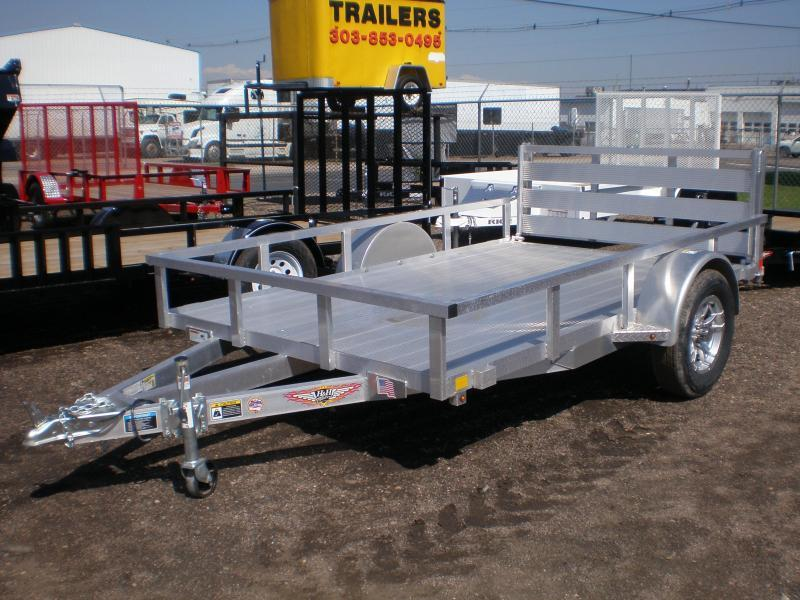 2021 H & H 76x10 ALL ALUMINUM ATV / UTILITY Trailer