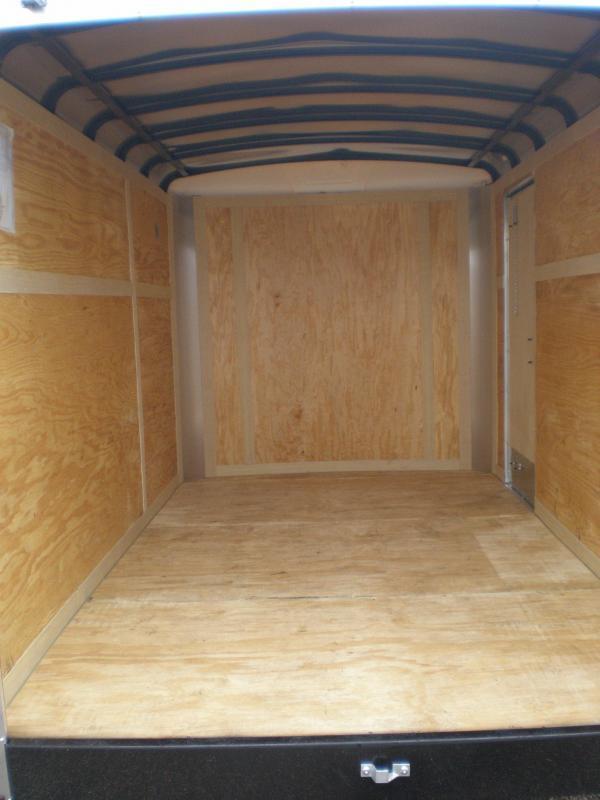 2021 Homesteader 6x12 Enclosed Cargo Trailer Double Doors