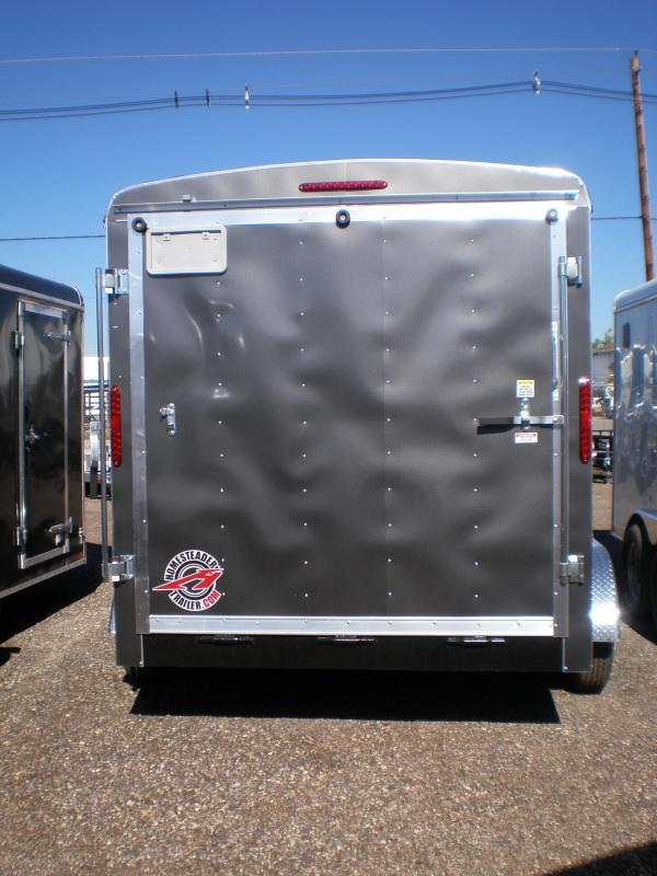 2021 Homesteader 7x12 Enclosed Cargo Trailer V-Nose
