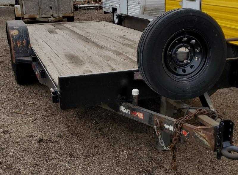 1997 Other 7x18 Flatbed Equipment Trailer