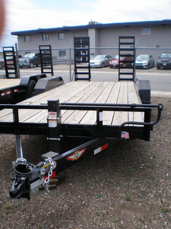2020 H&H 82X20 Flatbed Equipment Trailer 14K