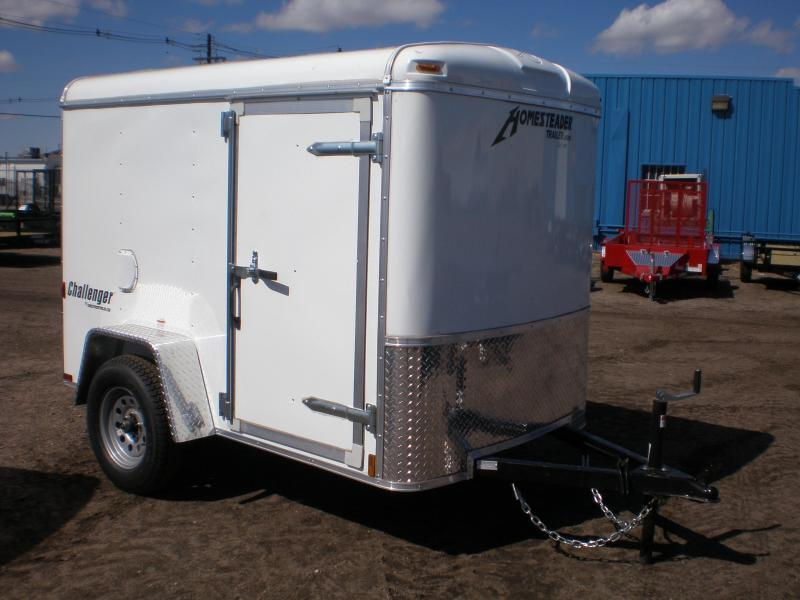 2021 Homesteader 5x8 Enclosed Cargo Trailer W/ Swing Door