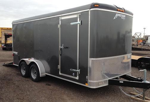 2021 Homesteader 7x16 Enclosed Cargo Trailer W/Ramp & Extra Height