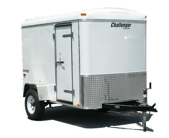 2021 Homesteader 5x10 Enclosed Cargo Trailer W/ Ramp door