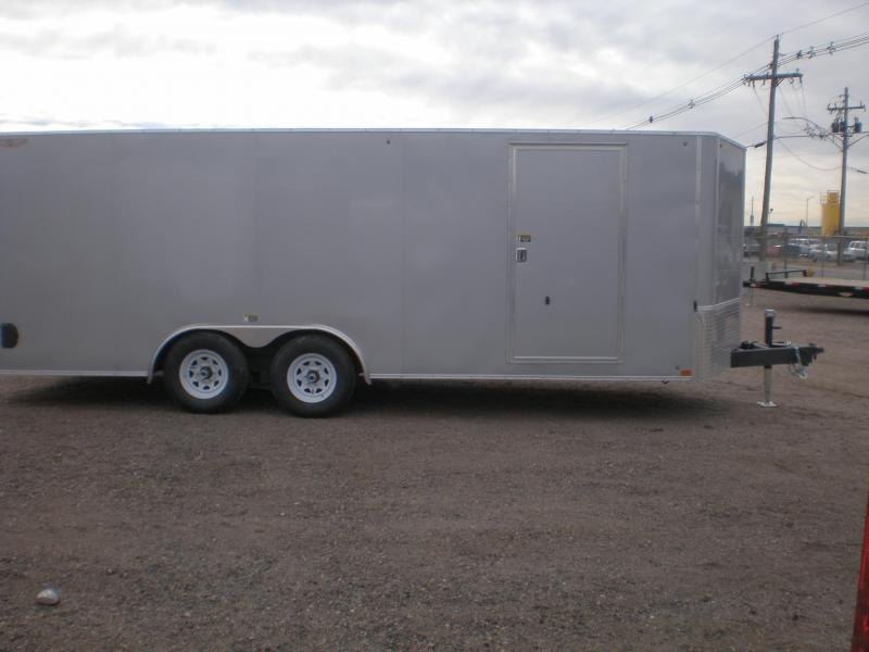 2021 H and H 10K 20' Enclosed Car Hauler / Cargo Trailer