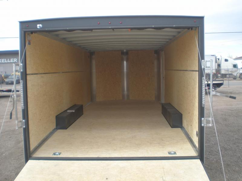 2021 H and H 10K 20' Enclosed Car Hauler / Cargo Trailer