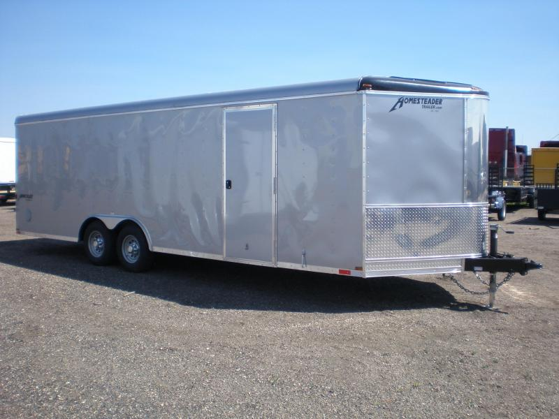 2021 Homesteader 24' Enclosed Car Hauler/Cargo Trailer