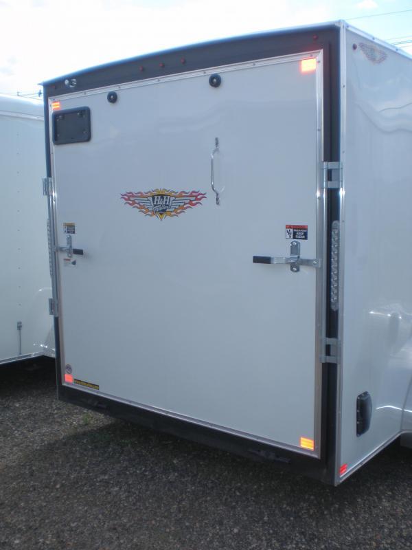 2020 H&H 7X14 Tandem V-Nose Enclosed Cargo Trailer