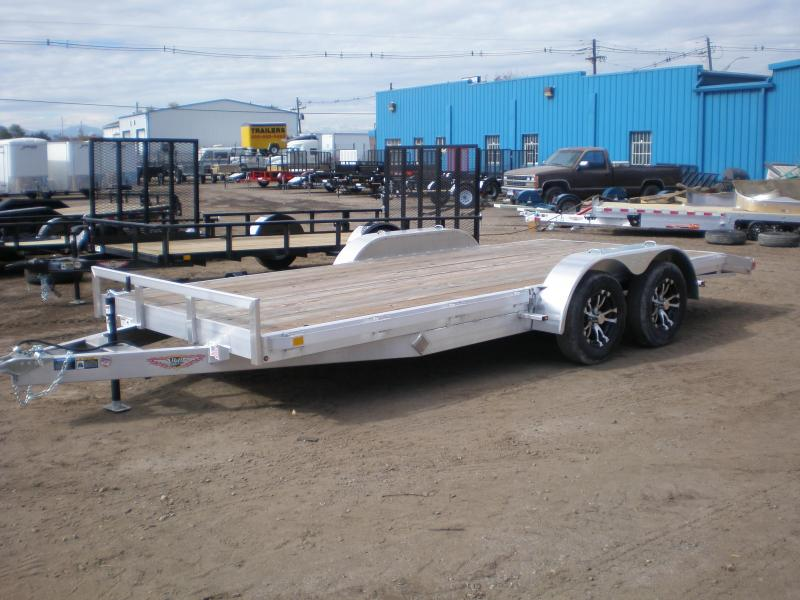 2020 H and H 82X18 ALUMINUM Flatbed Trailer