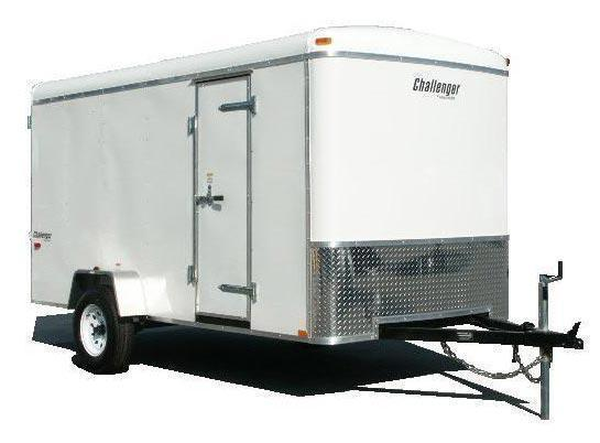 2021 Homesteader 6x12 Enclosed Cargo Trailer Double Doors