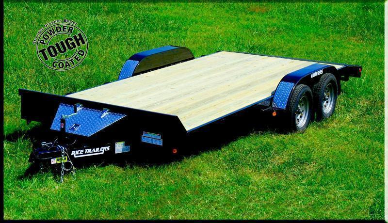 2021 Rice 82x18 Flatbed Car Hauler 10K -Dovetail