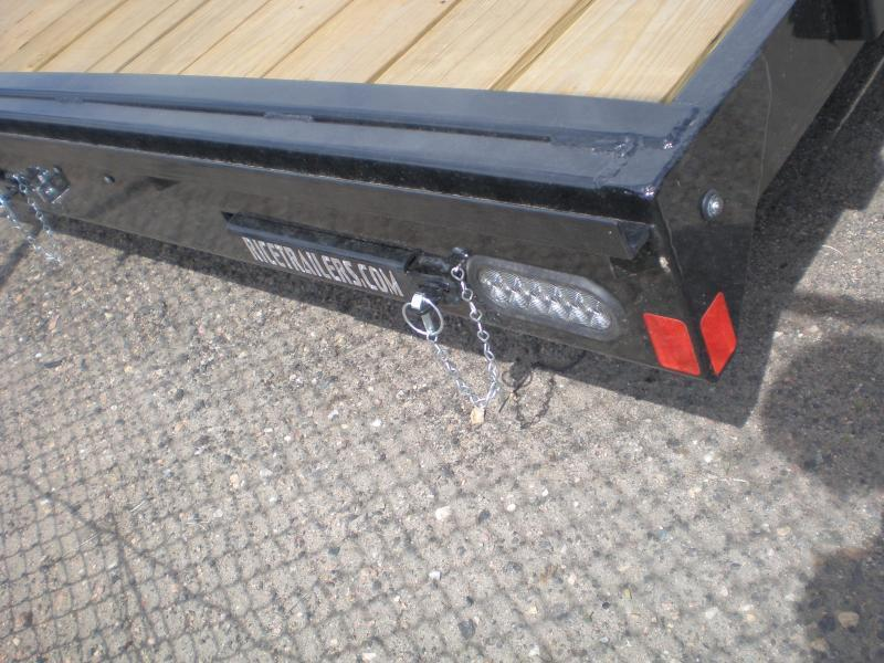 2020 Rice 82x18 Flatbed Car Haule r -No Dovetail