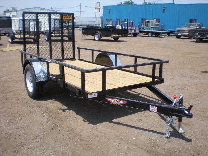 2021 H and H 5.5x10 Utility Trailer w/Ramp Gate