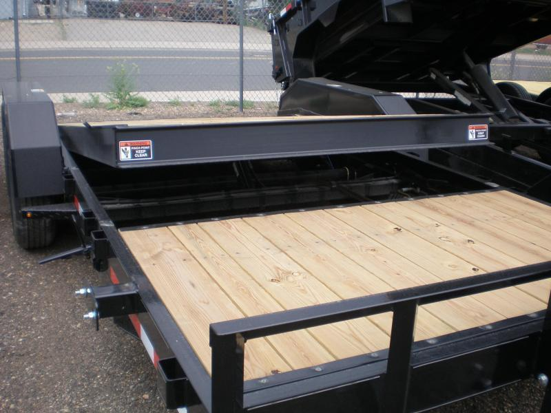 2021 H & H 82X22 PARTIAL TILT Flatbed Trailer 14K