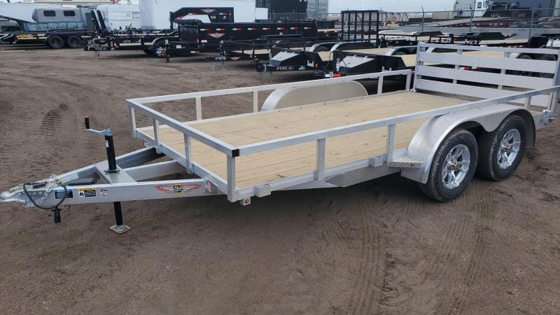 2020 H and H Trailer H8214TRSA Utility Trailer