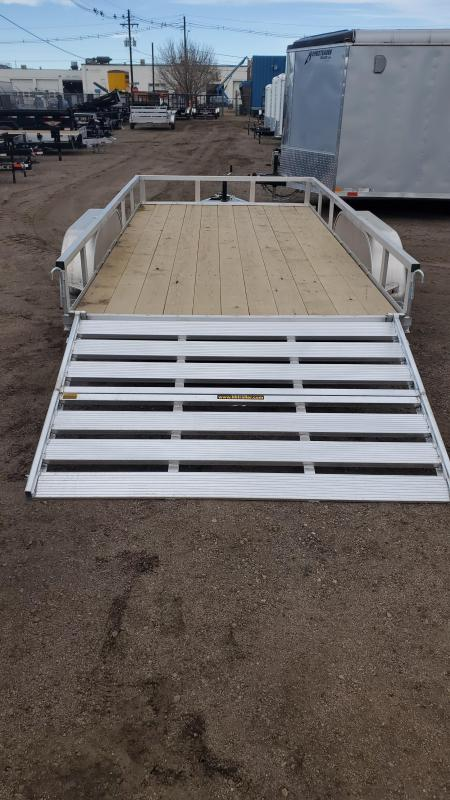 2021 H and H Trailer H8214TRSA Utility Trailer