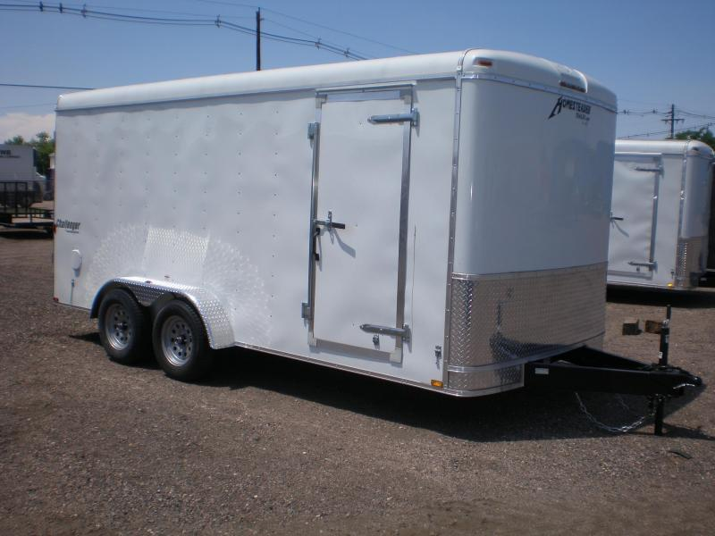 2021 Homesteader 7x16 Enclosed Cargo Trailer  Double Doors